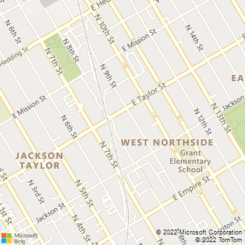 Map - The Esplanade - 350 E Taylor St - San Jose, CA, 95112