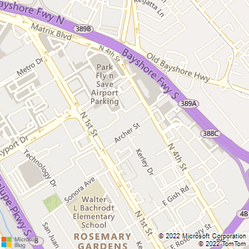 Map - Waterford Place - 1700 N 1st St - San Jose, CA, 95112