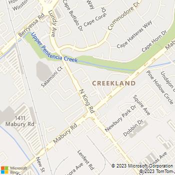 Map - Avenel Apartments - 750 N King Rd - San Jose, CA, 95133