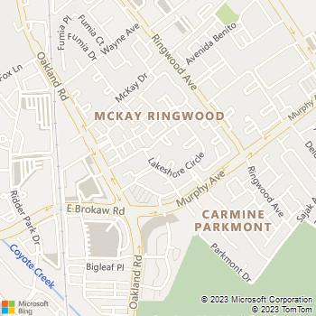 Map - Willow Lake - 1331 Lakeshore Circle - San Jose, CA, 95131