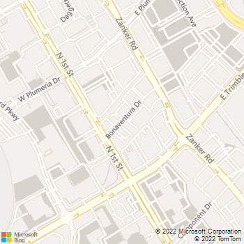 Map - South Bay Sedan Limo Svc Inc - 63 Bonaventura Dr - San Jose, CA, 95134