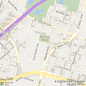 Map - Summerhill Park - 972 Corte Madera Ave - Sunnyvale, CA, 94086