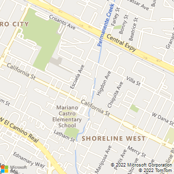 Map - Regency At Mountain View - 333 Escuela Avenue - Mountain View, CA, 94040