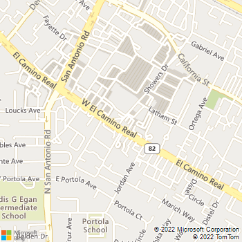 Map - Alta View Animal Hospital - 690 Showers Dr - Mountain View, CA, 94040