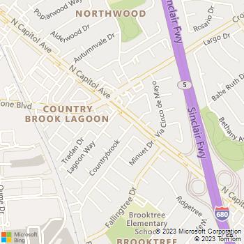 Map - Eaves San Jose - 1895 N. Capitol Avenue - San Jose, CA, 95132