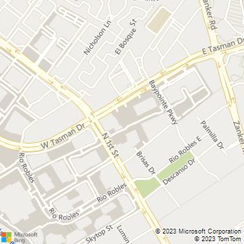 Map - University Of Phoenix - 3590 N. First St - San Jose, CA, 95134