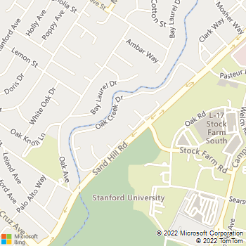 Map - Oak Creek - 1600 Sand Hill Rd - Palo Alto, CA, 94304