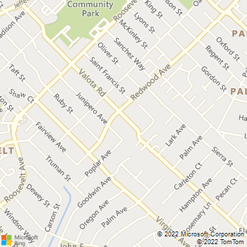 Map - Discount Plumbing - 1330 Valota Road - Redwood City, CA, 94061