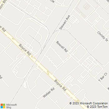 Map - Professional Painting - 4261 Stevenson Boulevard, Unit - Fremont, CA, 94538