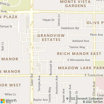 Map - Walnut Woods Apartments - 275 E Minnesota Ave - Turlock, CA, 95382