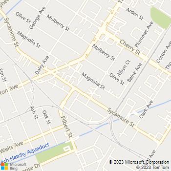 Map - Alderwood Park - 37057 Magnolia St - Newark, CA, 94560