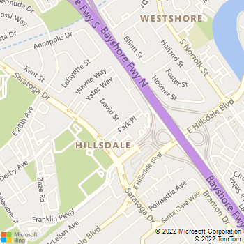 Map - Archstone San Mateo - 1101 Park Pl - San Mateo, CA, 94403
