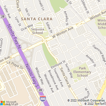 Map - South Shore Landscape - PO Box 6251 - Hayward, CA, 94540