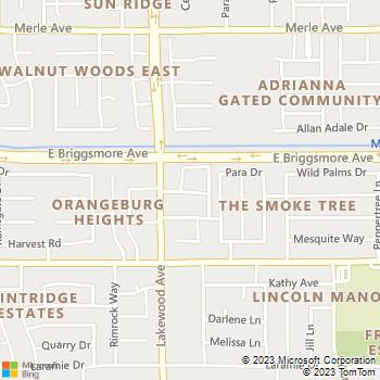 Map - Park Lakewood - 1500 Lakewood Ave - Modesto, CA, 95355