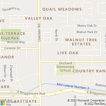 Map - Live Oak Apartments - 1900 Oakdale Rd - Modesto, CA, 95355