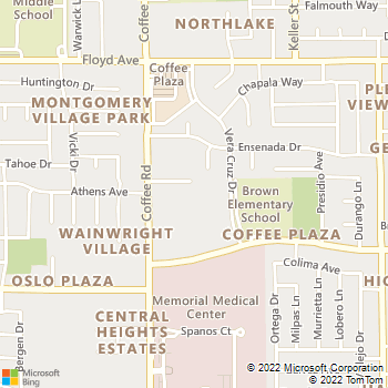 Map - Villa Verde North - 2100 Coffee Road - Modesto, CA, 95355