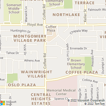 Map - Greenbriar Apartments - 2200 Coffee Rd - Modesto, CA, 95355