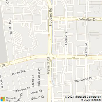 Map - Mike Counsil Electric - 4847 Hopyard Rd - Pleasanton, CA, 94588