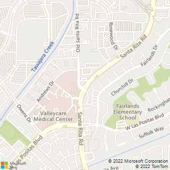 Map - Animal Medical Center of Pleasanton - 3901 Santa Rita Road Suite A - Pleasanton, CA, 94588
