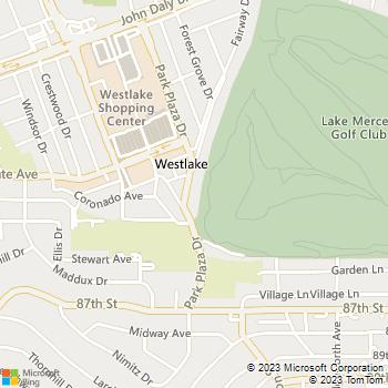 Map - Westlake Village - 333 Park Plaza Dr - Daly City, CA, 94015