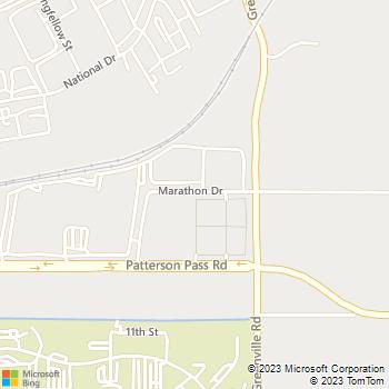 Map - Sosa Granite & Marble - 7701 Marathon Avenue - Livermore, CA, 94550