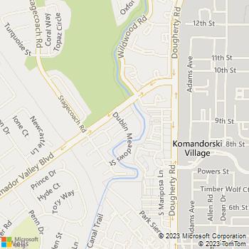 Map - Better Homes - 7054 Dublin Meadows Street, Su - Dublin, CA, 94568