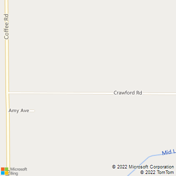 Map - Roadrunner Roadside Service - 1631 Crawford Road - Modesto, CA, 95357