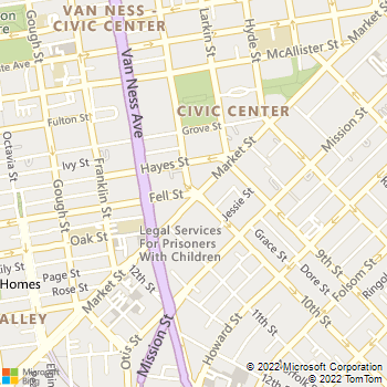 Map - Argenta - 1 Polk Street - San Francisco, CA, 94102