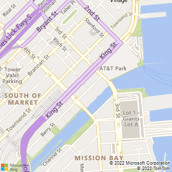 Map - Avalon at Mission Bay North - 255 King St - San Francisco, CA, 94107