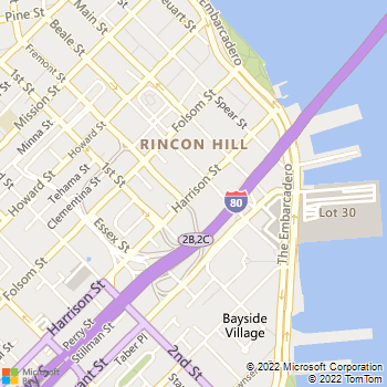 Map - Rincon Green - 333 Harrison St - San Francisco, CA, 94105