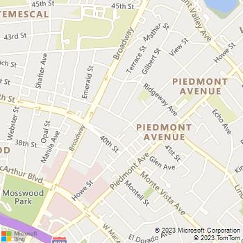 Map - TNT Landscaping - PO Box 13039 - Oakland, CA, 94661