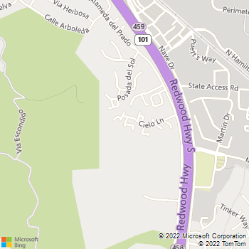 Map - Sonny McKinney - 135 Cielo Lane - Novato, CA, 94949