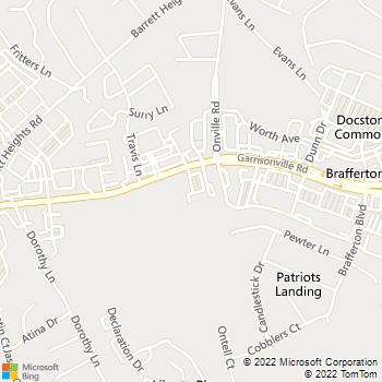 Map - 610 Animal Hospital - 395 Garrisonville Rd - Stafford, VA, 22554