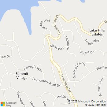Map - A Lombardi Painting - 1633 Francisco Drive - El Dorado Hills, CA, 95762