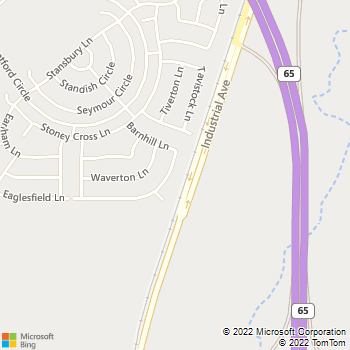 Map - Rivas Landscaping - 1173 Barnhill Lane - Lincoln, CA, 95648