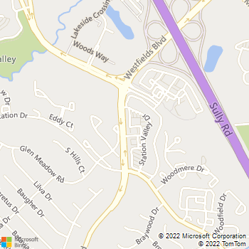 Map - Sully Animal Hospital - 5095 Westfields Blvd - Centreville, VA, 20120