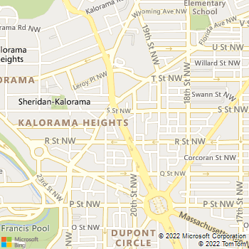 Map - Mr. 24/7 Locksmith - 435 11th Street - Washington, DC, 20004