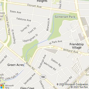 Map - 4701 Willard - 4701 Willard Avenue - Chevy Chase, MD, 20815