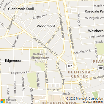 Map - Bethesda Locksmith - 7735 Old Georgetown Rd - Bethesda, MD, 20814