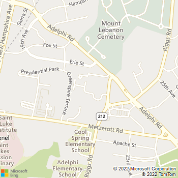 Map - Daniel's Run - 9228 Edwards Way - Hyattsville, MD, 20783