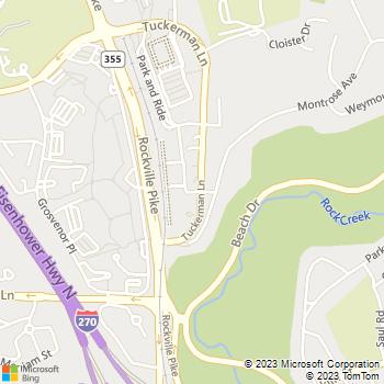 Map - Avalon at Grosvenor Station - 10306 Strathmore Hall Street - Rockville, MD, 20852