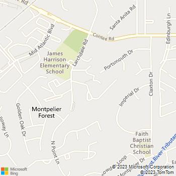 Map - Parke Laurel - 13178 Larchdale Rd - Laurel, MD, 20708
