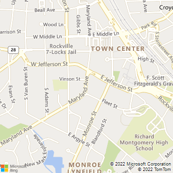 Map - Wentworth House - 5411 McGrath Blvd - Rockville, MD, 20852