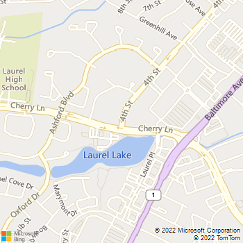 Map - Emerson At Cherry Lane - 14720 Fourth St - Laurel, MD, 20707