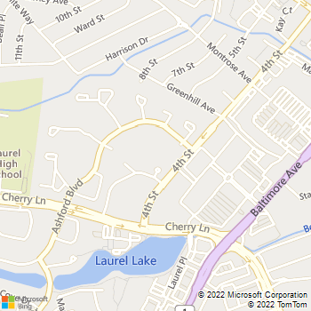 Map - Middletowne - 14800 Fourth St - Laurel, MD, 20707