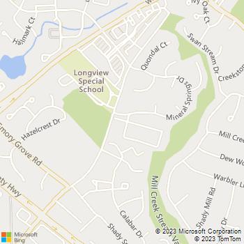 Map - Parklane Apartments - 8200 Spiceberry Ln - Gaithersburg, MD, 20877