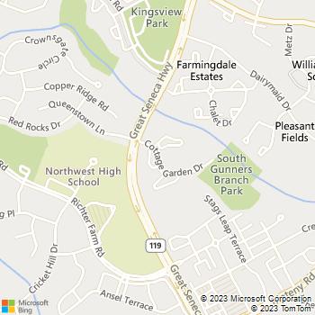 Map - Seneca Club - 18065 Cottage Garden Dr - Germantown, MD, 20874