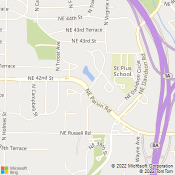 Map - Madison Walnut Creek - 1300 NE Parvin Road - Kansas City, MO, 64116