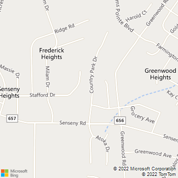 Map - Boston Law Firm - 125 Country Park Drive - Winchester, VA, 22602