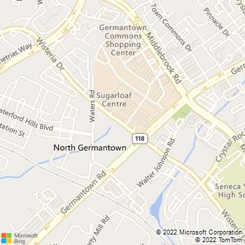 Map - Germantown Locksmith - 13017 Wisteria Dr - Germantown, MD, 20874
